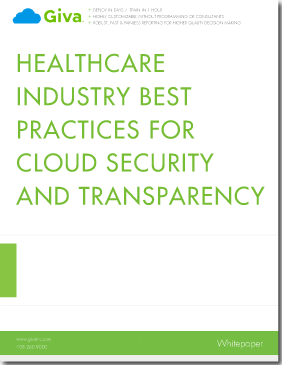 Healthcare Industry Best Practises for Cloud Security and Transparency