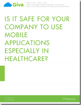 Is It Safe For Your Company to Use Mobile Applications Especially in Healthcare