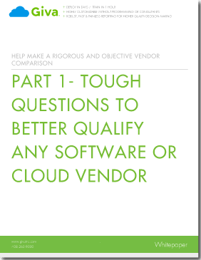 Tough Questions to Better Qualify Any Software or Cloud Vendor