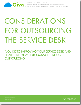 Select the Best IT Service Desk Outsourcer
