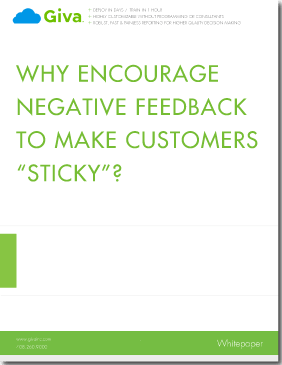 Why Encourage Negative Feedback to Make Customers Sticky